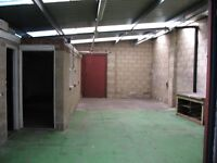 Secure Workshop/storage unit 150 Sq mts