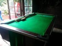 Superleague coin pool table