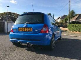 Renault Clio Sport 182 Racing Blue / Full Fat (both cup packs)