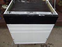 Zanussi / Electrolux integrated dishwasher in good clean working order with 3 months warranty