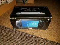 Sony PSP. Boxed with games