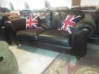 Thomas Lloyd Chesterfield Sofa settee 80inch Deliv Poss