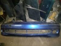 Mercedes Benz Clk W209 Front Bumper In blue C345 2002-2006