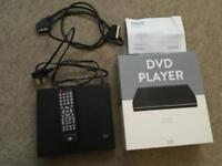 DVD player boxed with remote & gold plated scart
