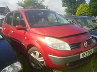 RENAULT SCENIC ENGINE/ GEAR BOX / PARTS