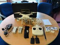 DJI Phantom 3 Standard Drone + Extras