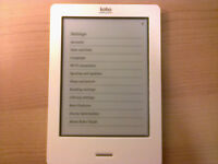 Second hand - fully working eReader, no lags/scratches. Come with Usb cable & original Box.