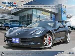 2016 Chevrolet Corvette Stingray ACCIDENT FREE, 1 OWNER