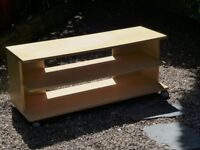 TV STAND - WITH WHEELS FOR EASY MOVEMENT