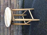 Wooden kitchen Stool
