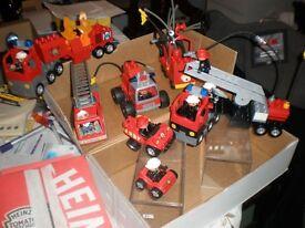 Lego Duplo Fire Truck set