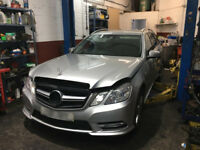 BREAKING MERCEDES BENZ E CLASS ESTATE 2011 W212 ALL PARTS AVAILABLE