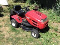 Lawnmower MTD ride on