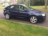 2006 06 Ford Focus 1.4 LX 5dr blue