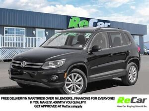 2017 Volkswagen Tiguan Wolfsburg Edition AWD   HEATED LEATHER...