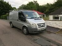 Ford transit LX (silver)