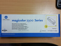 Konica Minolta Magicolor 2300 series toner cartridge yellow