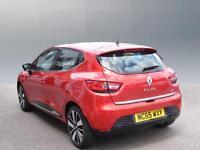 Renault Clio DYNAMIQUE S NAV DCI (red) 2015-12-31