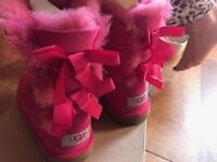 Children's pink ugg boots