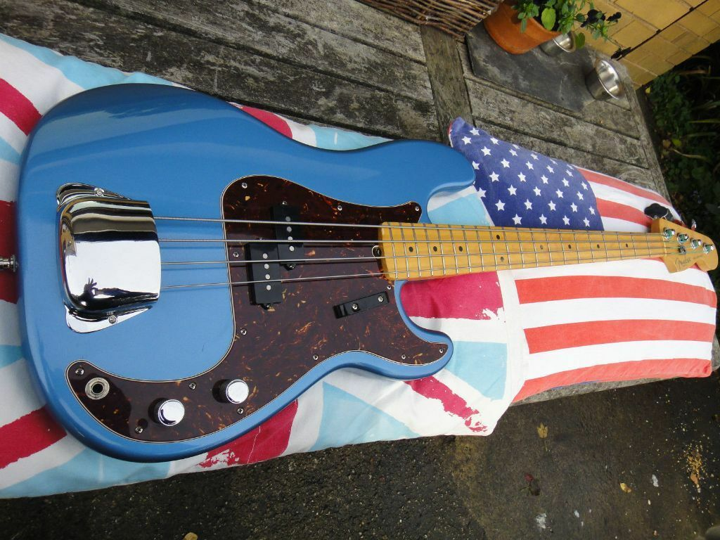 Fender Precision USA bass guitar, made in America, 1997, willing to ...