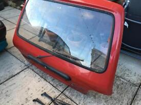 Rover metro mk3 bootlid and glass..