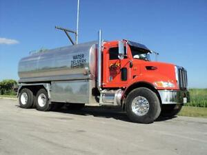 Water truck for Pools