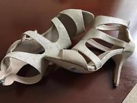 Next: ladies shimmer sandals