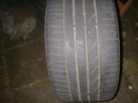 three part worn tyres for sale