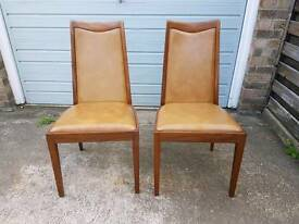 Pair of G plan chairs