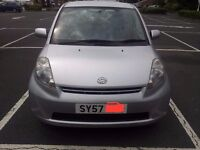 Daihatsu SIRION Road Tax £30, 12Month MOT, 2007 Hatchback 50,000 miles Manual 1L Petrol