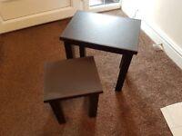 Nest of Side Tables, Set of 2