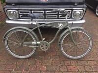 Beach cruiser bicycle - vintage style bike - old skool