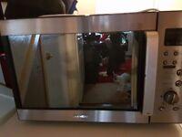 Daewoo microwave combi vgc
