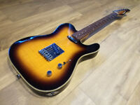 RARE Tanglewood Telecaster / Quomaster Deluxe edition, Mint condition, not Epiphone, Fender, Squier