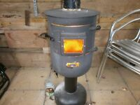 Metal Wood Burner/Chiminea