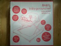Redkite Baby Go Round Twirl baby Walker + Box (Used 2 weeks Only)