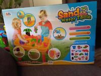 DUAO sand and water table