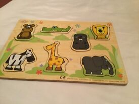 Various wooden toy puzzles £3 each can deliver if local call 07812980350
