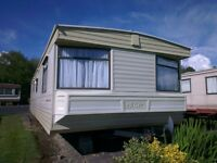 STATIC 2 bedroomed 6 BERTH Sited in LLANBRYNMAIR, POWYS, MID WALES.