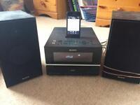 Sony DAB Radio/CD/iPhone system