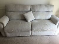 Bargain - Immaculate three seater sofa 6 months old