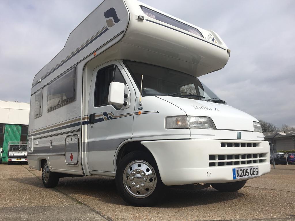fiat ducato motorhome campervan 4 birth diesel 54 000. Black Bedroom Furniture Sets. Home Design Ideas