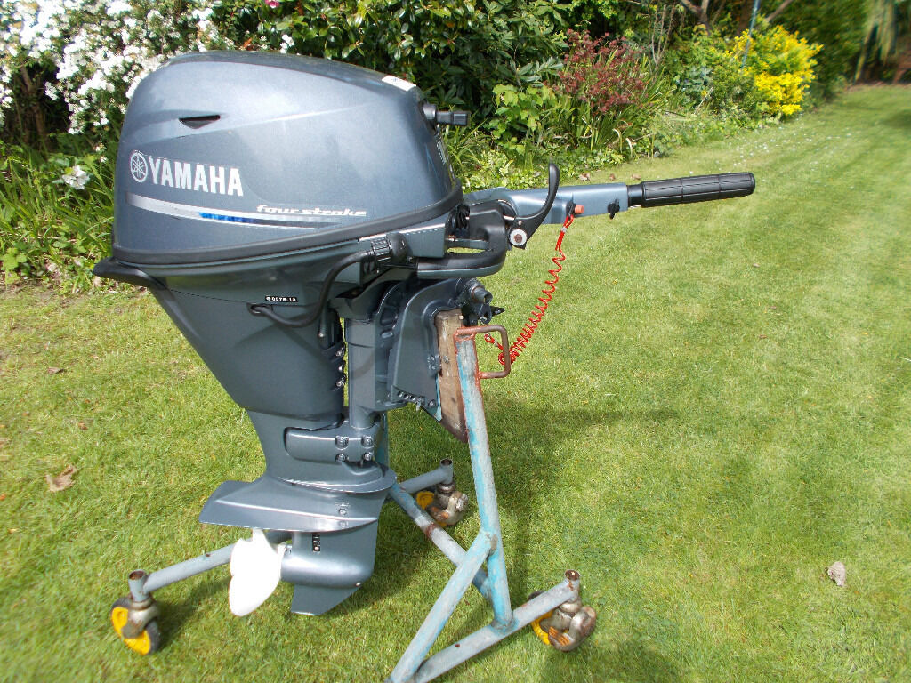 15hp yamaha fourstroke outboard engine 39 2013 in for 10 hp outboard jet motor