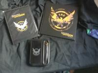 Tom Clancy's The Division Artbook, Poster and Armband bundle