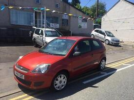 Bargain 56 plate Ford Fiesta 1.25 Zetec climate one owner