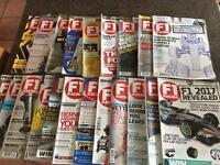 F1 Racing Magazine 21 issues 2015/16