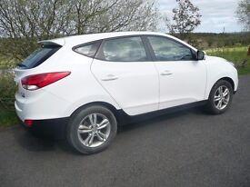 hyundai ix35 2013/13 reg. mot 18/03/2018 heated seats rear parking sensors all round elec. windows