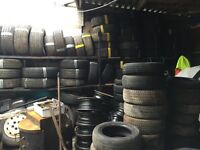 "Cheapest and best part worn tyres in the county, 13"", 14"", 15"", 16"", 17"""