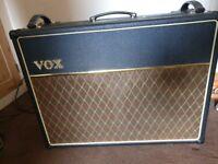 VOX AC30 CC2X Blue Speakers, Guitar Amp