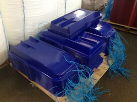 SLEDGES - BLUE OR RED - AMAZING QUALITY - FOR KIDS & AND ADULTS! GOING FAST! ANSTEY & SYSTON!
